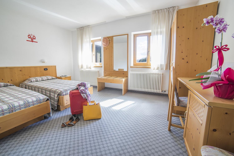 Hotel Melchiori - Dettaglio delle camere