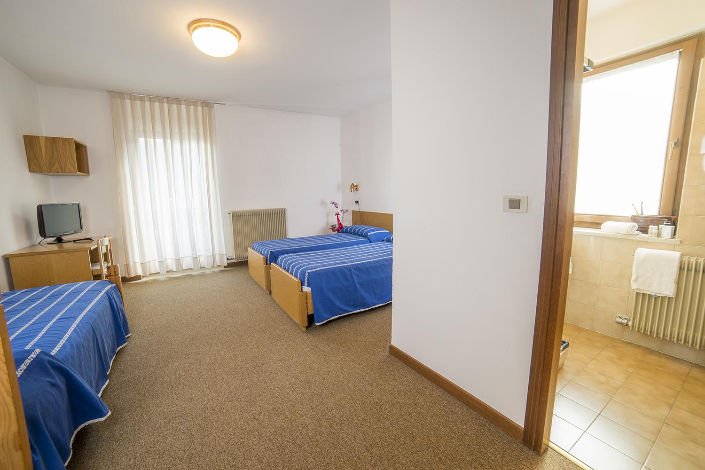 Hotel Pavone - Dettaglio delle camere