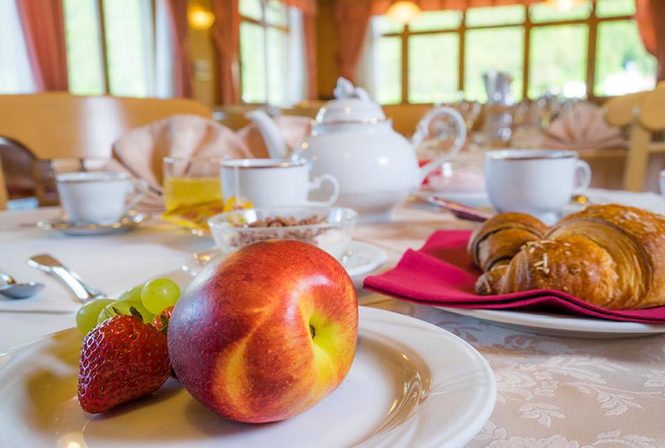 Colazione all'hotel Melchiori e all'hotel Pavone - Andalo, Trentino