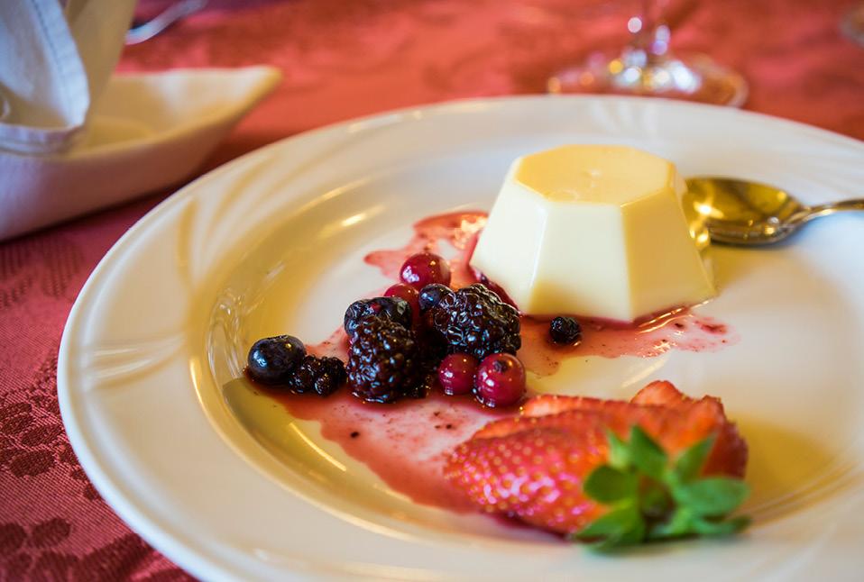 I dolci dell'hotel Melchiori e hotel Pavone - Andalo, Trentino